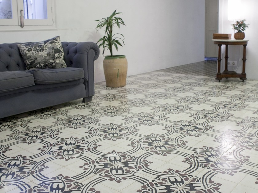 Cement wall tiles / flooring CLA_CB_46 by enticdesigns