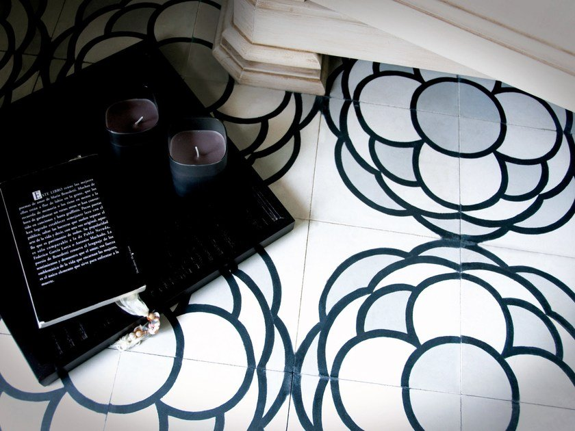 Cement wall tiles / flooring CLA_CB_34 by enticdesigns