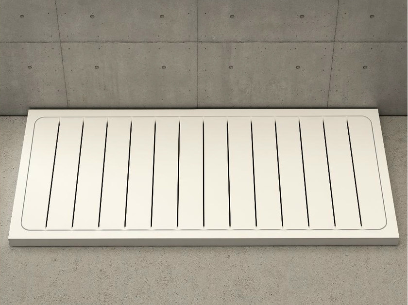 Rectangular shower tray LINEA by DIMASI BATHROOM
