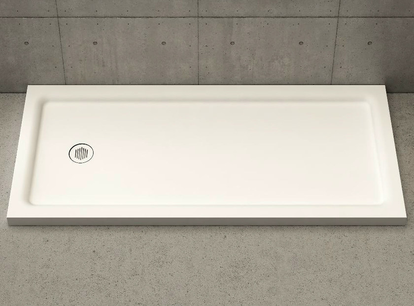 Rectangular shower tray PIANO by DIMASI BATHROOM