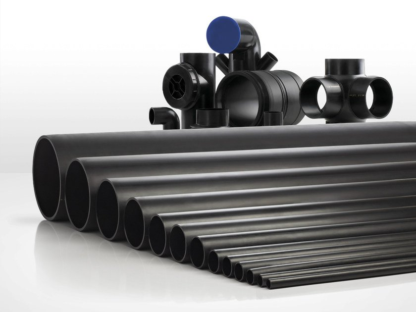 Polyethylene for waste and drainage systems HPDE by Valsir