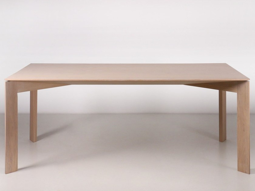 Oak dining table ARCH by Branca Lisboa