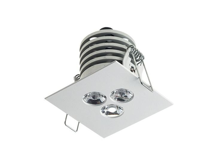LED square recessed spotlight Look 4.1 by L&L Luce&Light