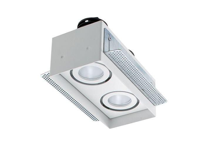 LED multiple recessed spotlight Quad Maxi 2.2 by L&L Luce&Light