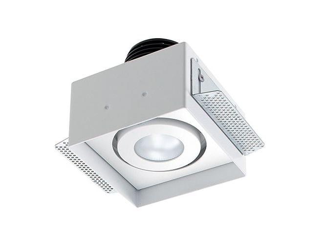 LED adjustable recessed spotlight Quad Maxi 4.1 by L&L Luce&Light