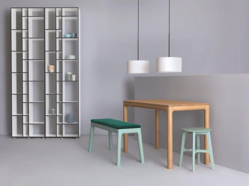 Rectangular wooden table M11 | Rectangular table by ZEITRAUM