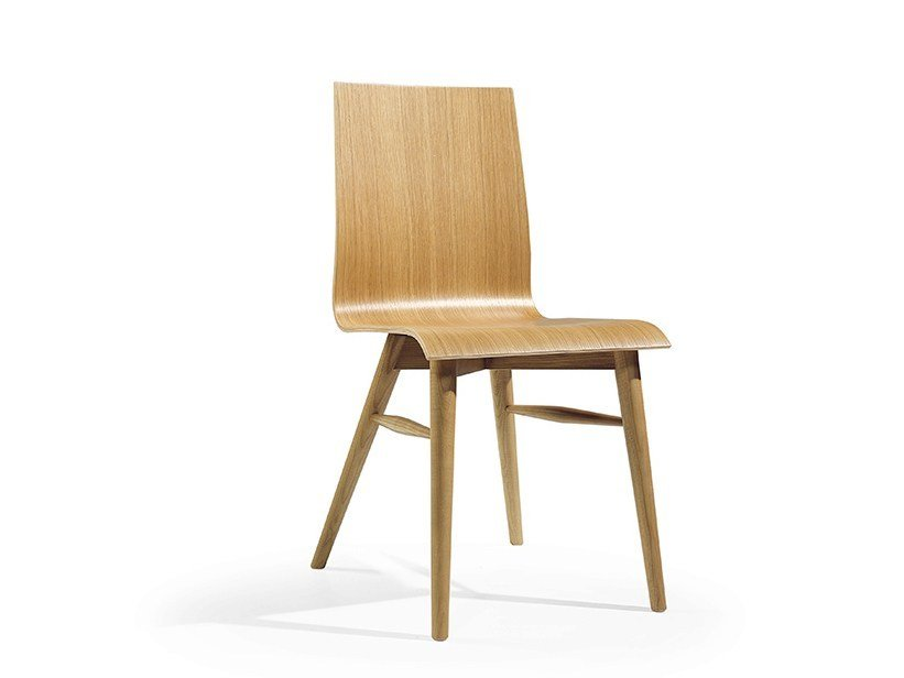 Wooden chair COFFE MAD by Fenabel