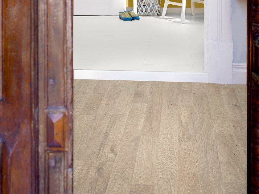 Laminate flooring LINNEN OAK 2-STRIP by Pergo