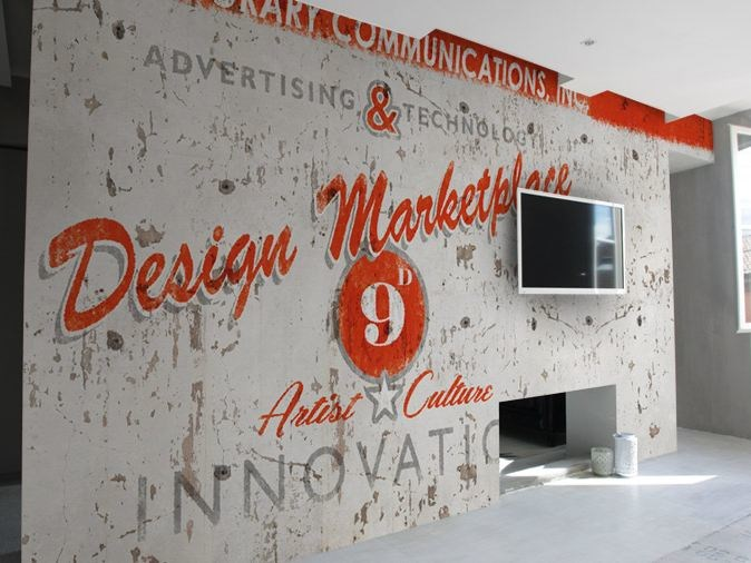 Wall effect vinyl wallpaper DESIGN MARKETPLACE by GLAMORA
