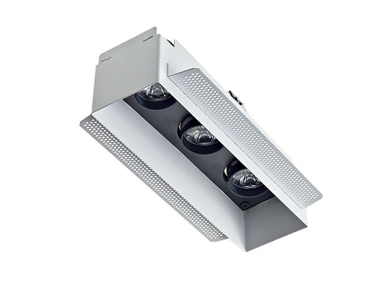LED multiple recessed spotlight Quad 6.3 by L&L Luce&Light