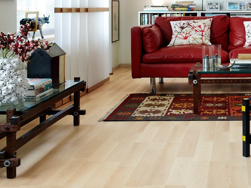 Laminate flooring NORDIC ASH 2-STRIP by Pergo