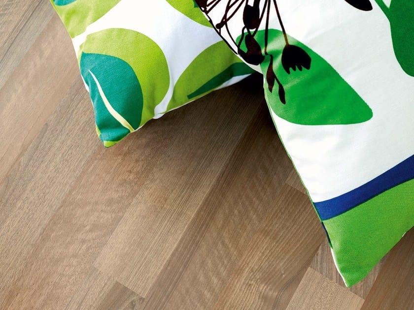 Laminate flooring SOFT WALNUT 3-STRIP by Pergo