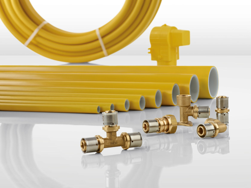 Pipe for domestic gas network PEXAL GAS by Valsir