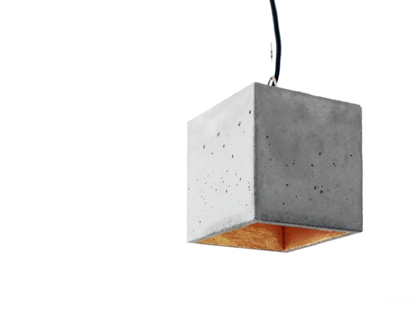 Cement pendant lamp [B5] by GANTlights