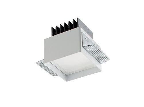LED square recessed spotlight Turis 2.0 by L&L Luce&Light
