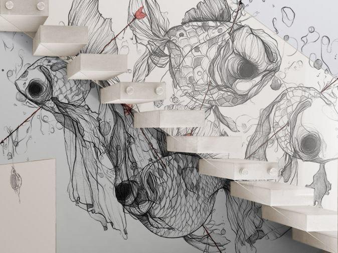 Washable vinyl wallpaper CG4 by GLAMORA