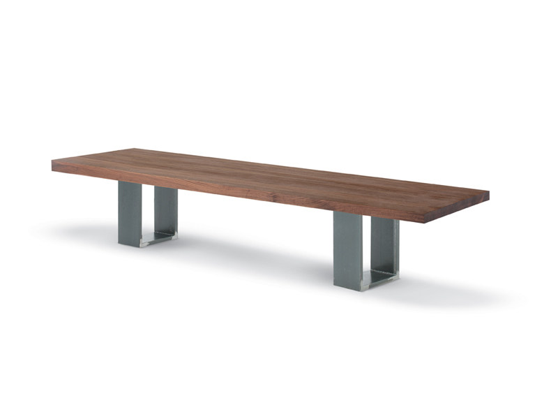 Solid wood bench NEWTON BENCH by Riva 1920