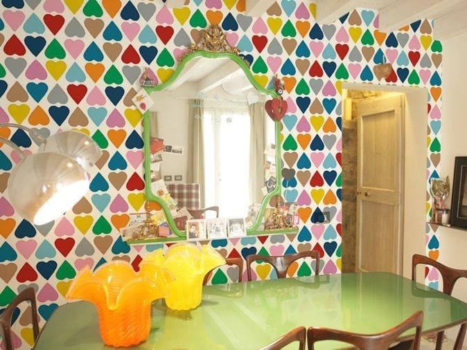 Motif washable vinyl wallpaper DIAMOND by GLAMORA