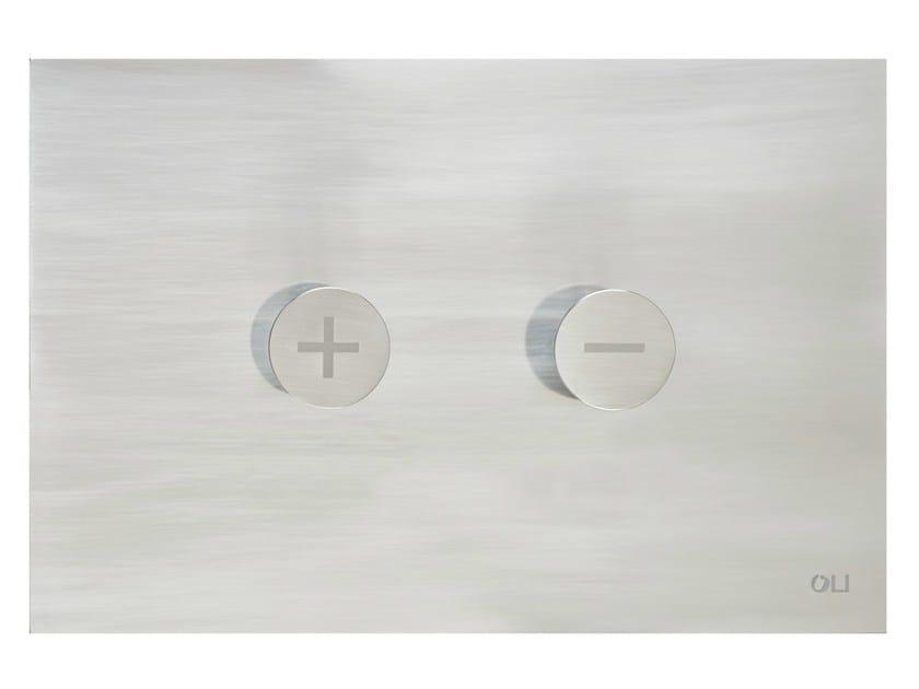 Steel flush plate TRUMPET by OLI