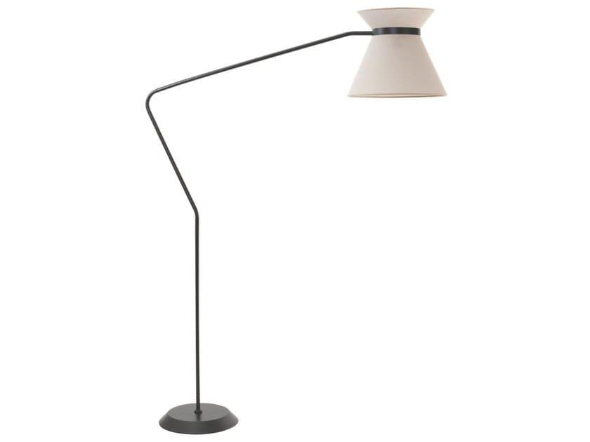 Lampada da terra in metallo HAT | Lampada da terra by Flam & Luce
