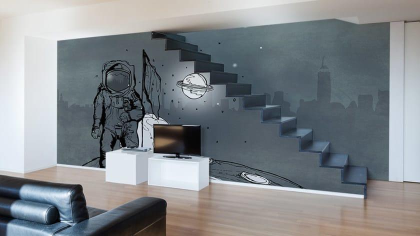 Washable vinyl wallpaper SPACEMAN by GLAMORA