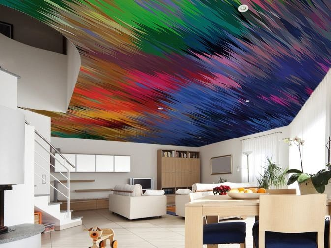 Washable optical vinyl wallpaper BOOST by GLAMORA