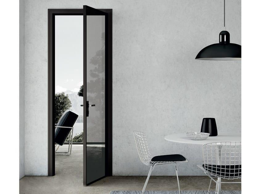Hinged crystal door MODO | Hinged door by MOVI ITALIA