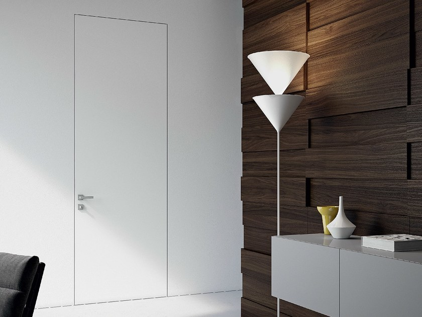 Flush-fitting lacquered door SEGNO | Flush-fitting door by MOVI ITALIA
