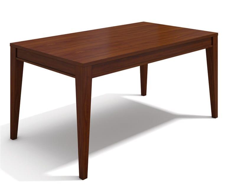 Extending rectangular wooden table VARIA GUSTAV by SELVA