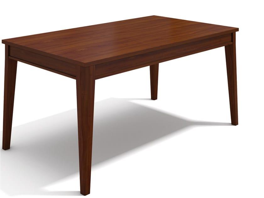 Extending rectangular wooden table VARIA NICO by SELVA