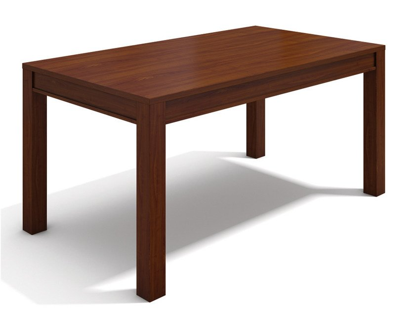 Extending rectangular wooden table VARIA ADAM by SELVA