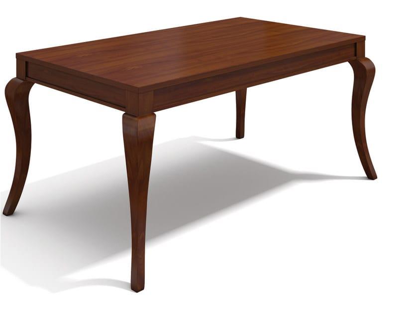 Extending rectangular wooden table VARIA SANDRA by SELVA