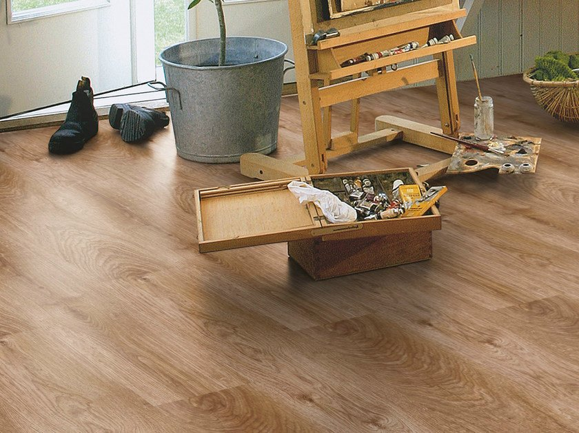 Laminate flooring with wood effect CLASSIC OAK PLANK by Pergo