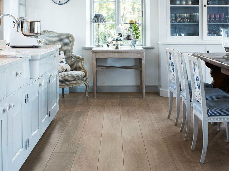 Laminate Flooring With Wood Effect Reclaimed Grey Oak By Pergo