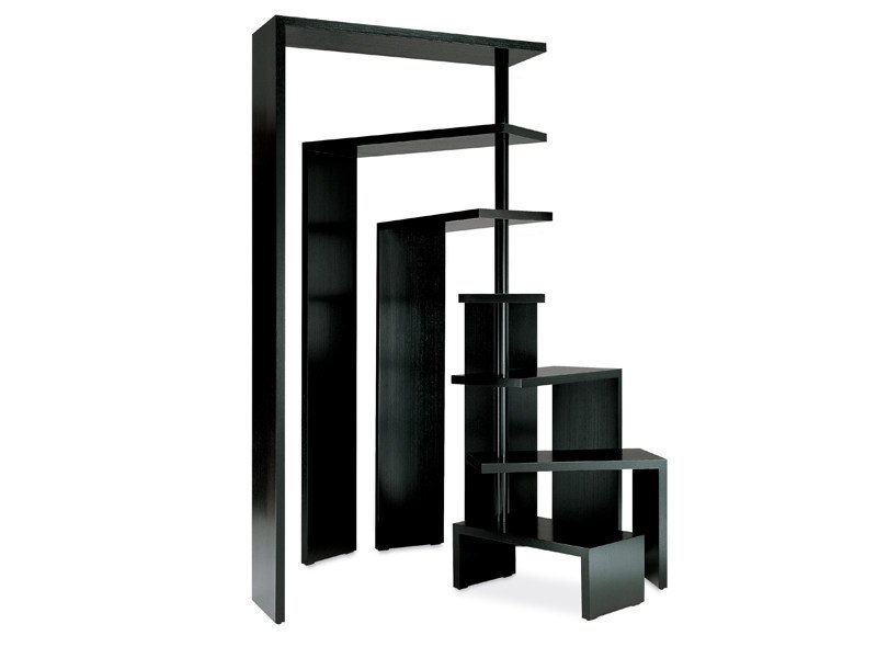 Swivel freestanding bookcase JOY by Zanotta