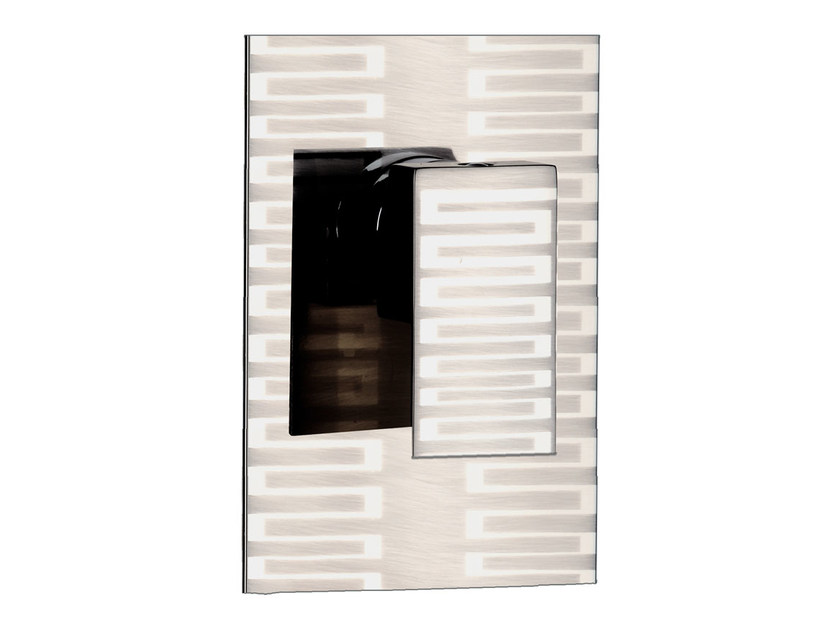 Single handle shower mixer with plate SKYLINE DEKORA | Shower mixer by Daniel Rubinetterie