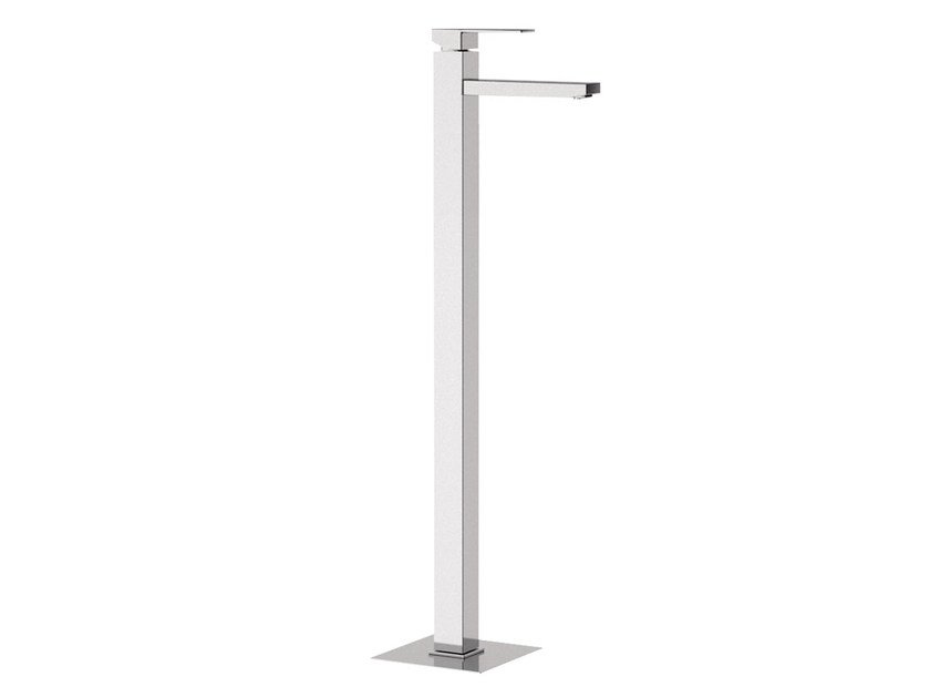 Floor standing single handle washbasin mixer SKYLINE | Floor standing washbasin mixer by Daniel Rubinetterie