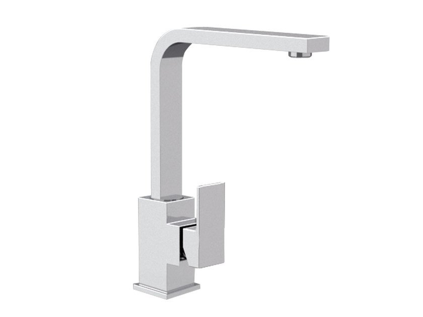 Single handle washbasin mixer with adjustable spout SKYLINE | Washbasin mixer with adjustable spout by Daniel Rubinetterie