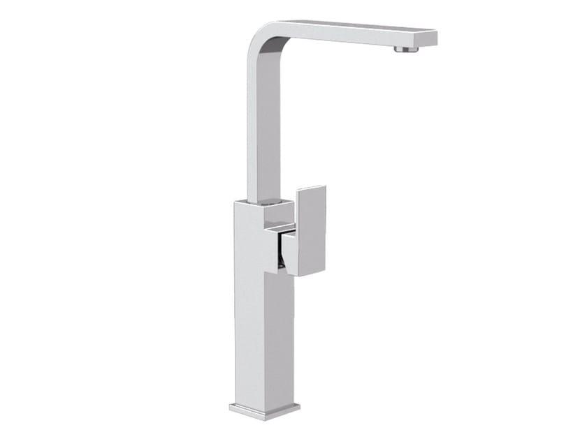 Single handle washbasin mixer with adjustable spout SKYLINE | Single handle washbasin mixer by Daniel Rubinetterie