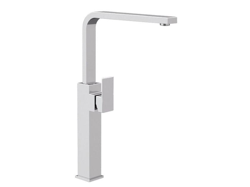 Single handle washbasin mixer with adjustable spout SKYLINE | Washbasin mixer with adjustable spout by Daniel Rubinetterie