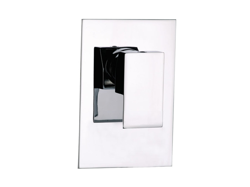 Single handle shower mixer with plate SKYLINE   Shower mixer with plate by Daniel Rubinetterie