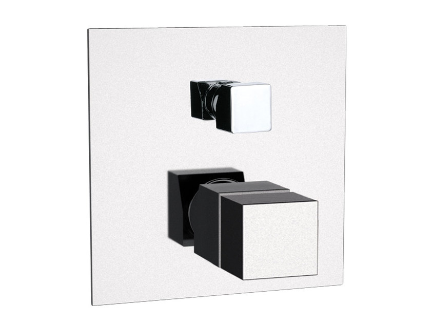 Single handle thermostatic shower mixer with diverter SKYLINE | Thermostatic shower mixer with diverter by Daniel Rubinetterie
