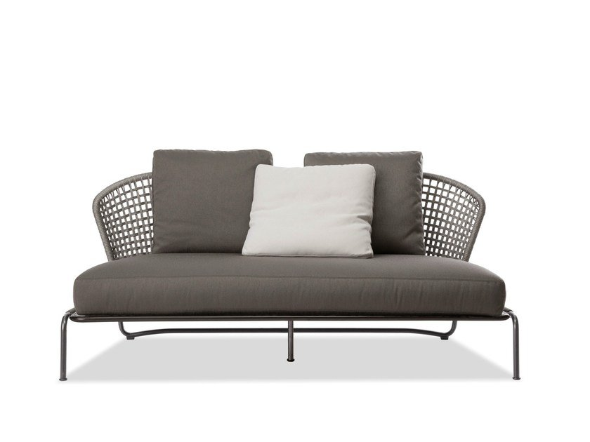 Outdoor sofa ASTON CORD OUTDOOR SOFÀ by Minotti