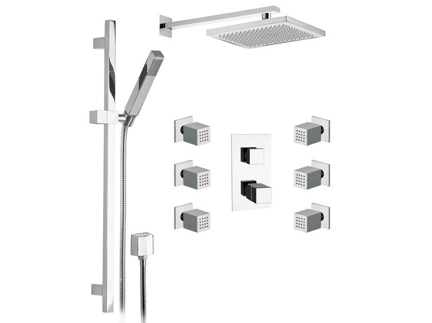 Thermostatic shower mixer SKYLINE | Thermostatic shower mixer by Daniel Rubinetterie