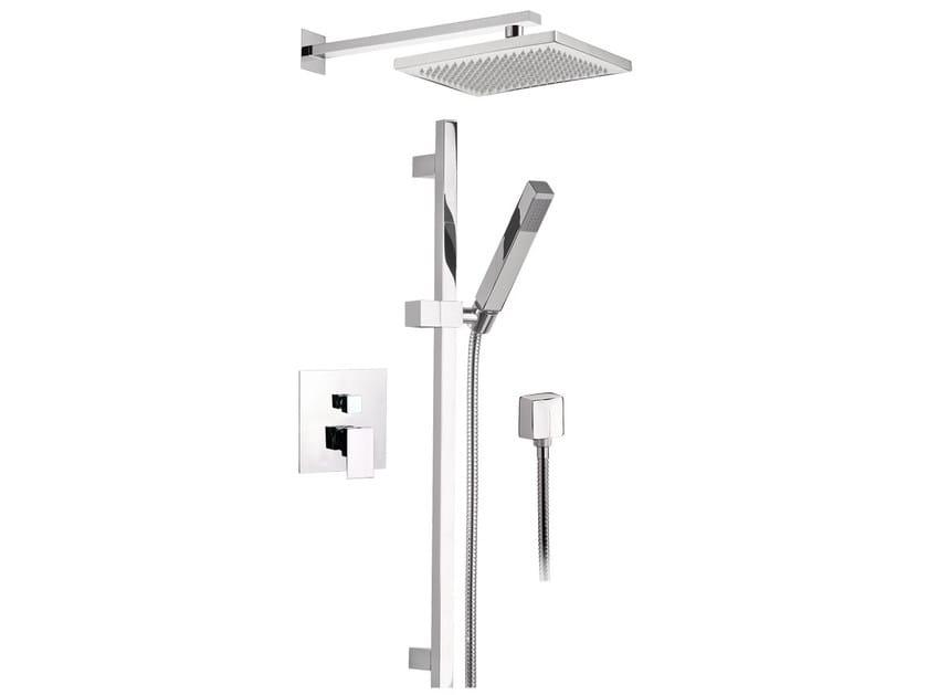 Shower mixer with hand shower SKYLINE | Shower mixer by Daniel Rubinetterie