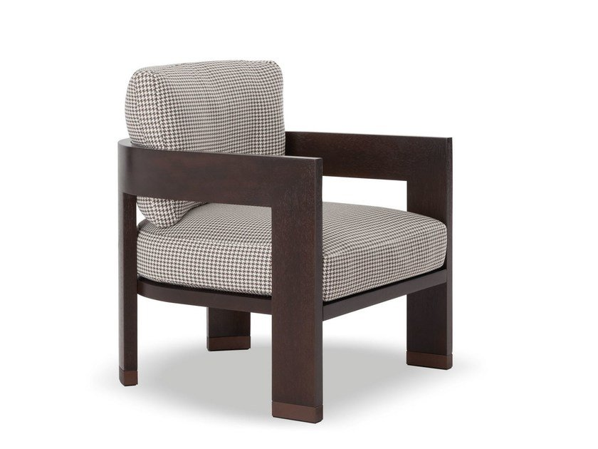 Outdoor armchair WARHOL DARK BROWN OUTDOOR by Minotti