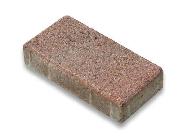 Concrete paving block CORSO® 15x30 by Tegolaia