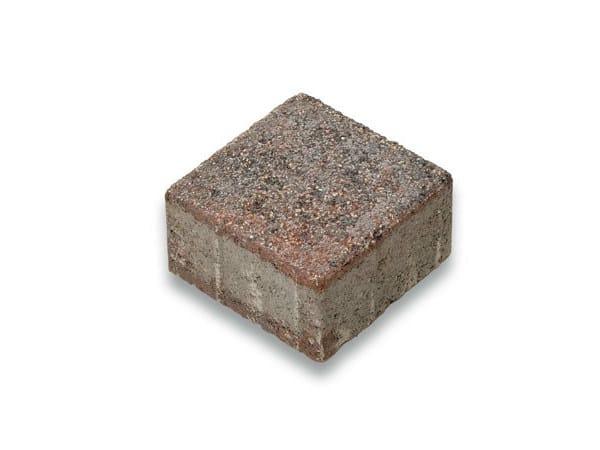Concrete paving block CORSO® 15 by Tegolaia