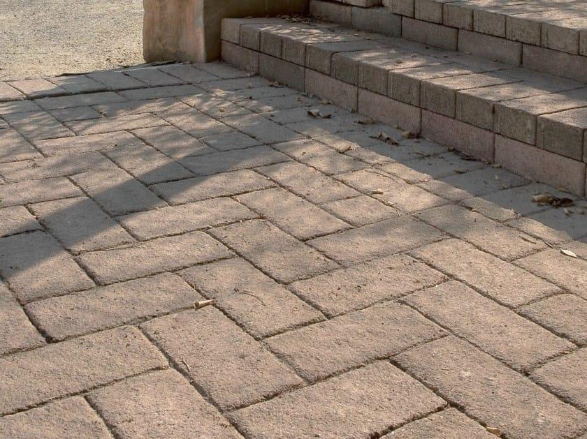 Concrete paving block CORSO® ETRUSCO by Tegolaia