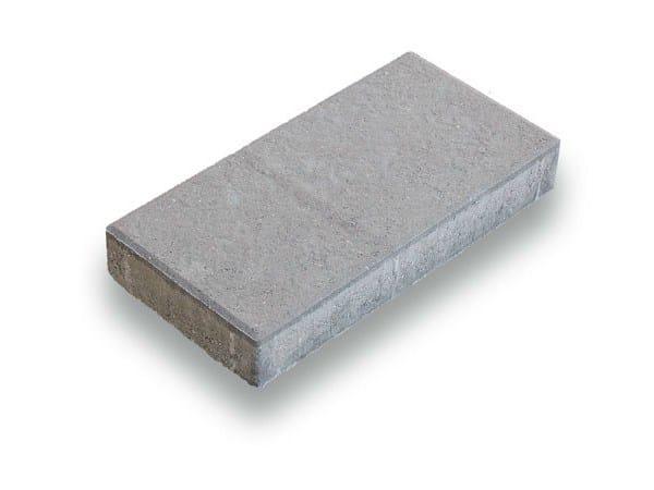 Concrete paving block ROMA by Tegolaia